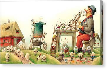 Eastereggs 07 Canvas Print