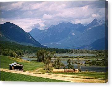 Eastern British Columbia  Canvas Print