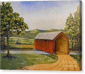 Eastern Covered Bridge Canvas Print