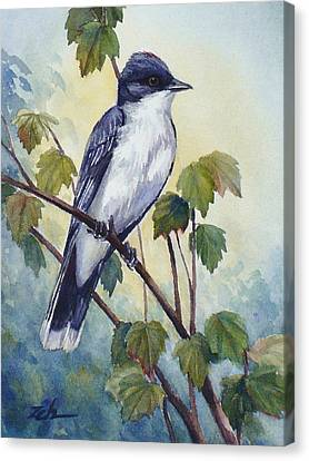 Eastern Kingbird Canvas Print