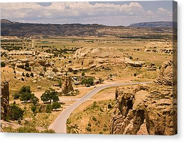 Eastern Mesa View Canvas Print by James Gay
