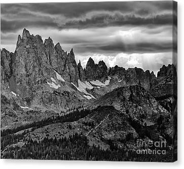 Canvas Print - Eastern Sierras Summer Storm 2 by Terry Garvin