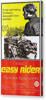 Easy Rider, Australian Poster, Peter Canvas Print