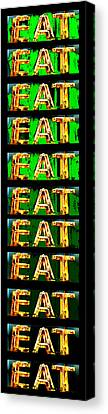 Canvas Print - Eat Up by Jame Hayes