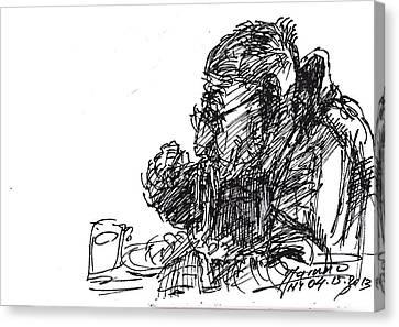 Eater 3 Canvas Print