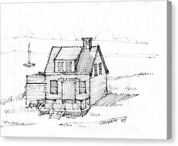 Eatons Residence Canvas Print