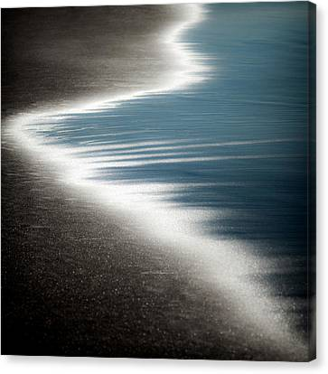 Ebb And Flow Canvas Print by Dave Bowman