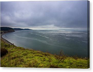 Ebey's Landing Canvas Print by Calazone's Flics
