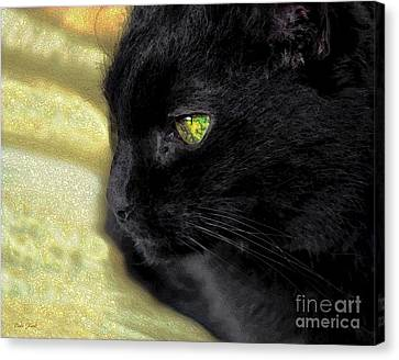Ebony Canvas Print by Dale   Ford