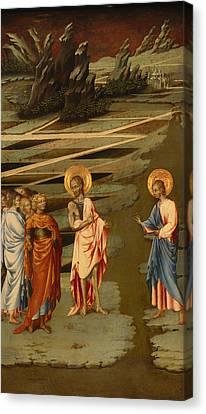 Agnus Canvas Print - Ecce Agnus Dei  by Mountain Dreams