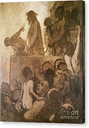 Ecce Homo Canvas Print by Honore Daumier