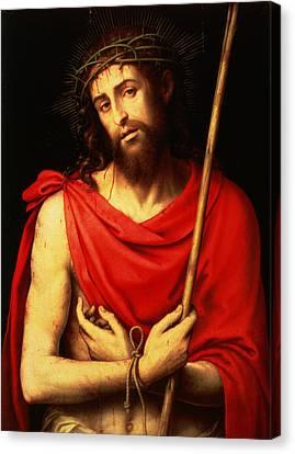 Martyr Canvas Print - Ecce Homo  by Vicente Juan Macip