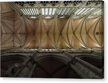 Ecclesiastical Ceiling No. 1 Canvas Print