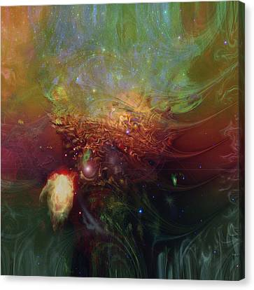 Echoes Canvas Print by Linda Sannuti