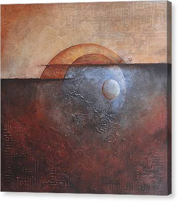 Eclipse Canvas Print by Buck Buchheister