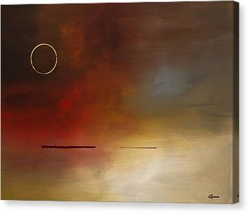 Eclipse Canvas Print by Carmen Guedez