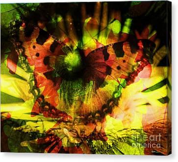 Eco-eye Canvas Print by Elizabeth McTaggart