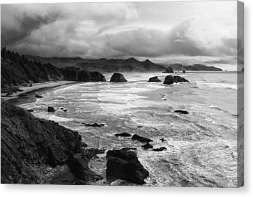 Canvas Print featuring the photograph Ecola State Park by Photography  By Sai