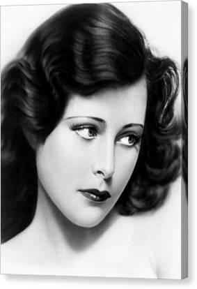 Ecstasy, Aka Extase, Hedy Lamarr, 1933 Canvas Print