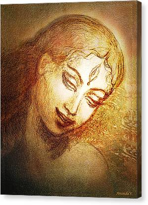 Ecstasy  Canvas Print by Ananda Vdovic