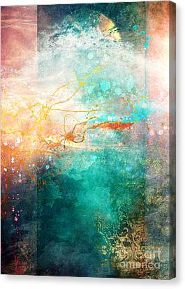 Ecstatic Canvas Print
