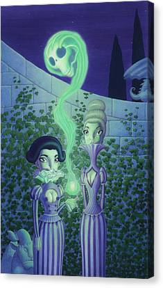 Ectoplasm Canvas Print by Richard Moore
