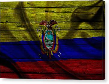 Ecuador Canvas Print by Joe Hamilton