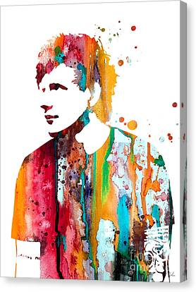 Ed Sheeran Canvas Print by Luke and Slavi