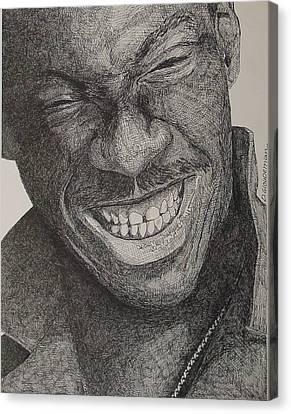 Eddie Canvas Print by Denis Gloudeman