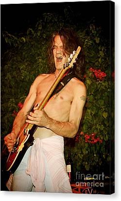 Eddie Van Halen Canvas Print by Nina Prommer