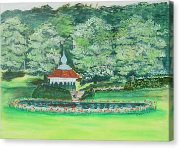 Eden Park  Cincinnati Ohio Canvas Print by Diane Pape
