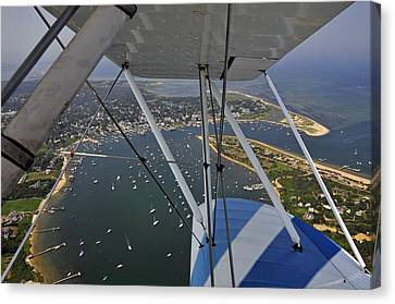 Edgartown Harbor Canvas Print by Dan Myers