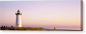 Edgartown Lighthouse, Marthas Vineyard Canvas Print by Panoramic Images