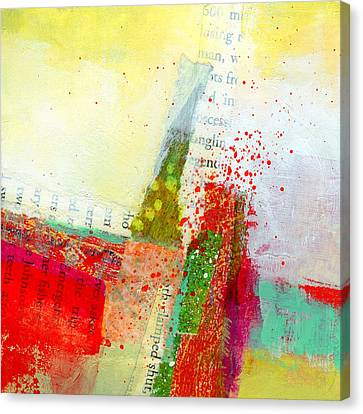 Edge  57 Canvas Print by Jane Davies