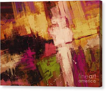 Edge Canvas Print by Keith Mills