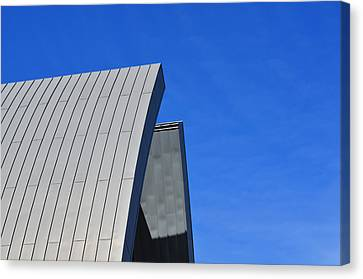 Edge Of Heaven - Architectural Photography By Sharon Cummings Canvas Print by Sharon Cummings