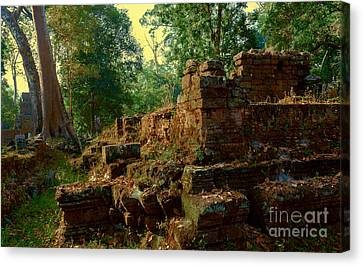 Edge Of Ruin Canvas Print