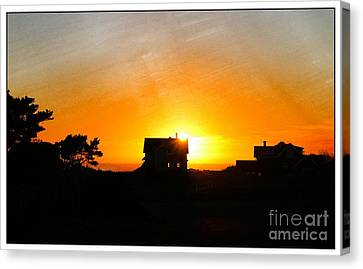 Edge Of The Mendocino Headlands Canvas Print