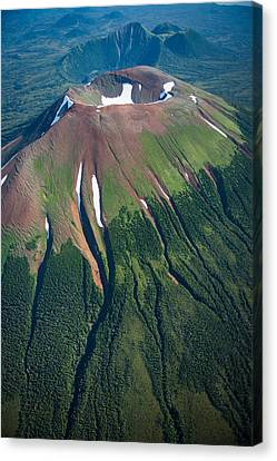Edgecumbe Volcano Canvas Print by Roger Clifford
