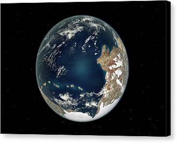 Ediacaran Earth Canvas Print