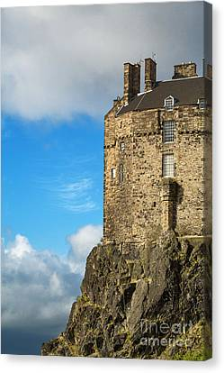 Edinburgh Castle Detail Canvas Print by Jane Rix