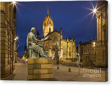 Edinburgh Cathedral Canvas Print by Brian Jannsen