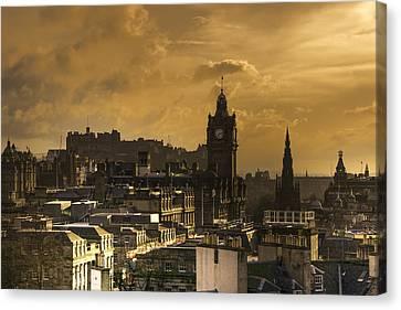 Edinburgh Dusk Canvas Print