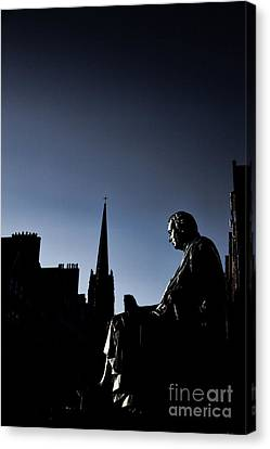Canvas Print featuring the photograph Edinburgh Royal Mile by Craig B