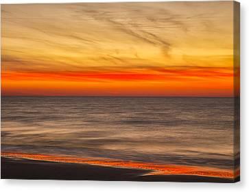 Edisto Beach Sunrise 07 Canvas Print