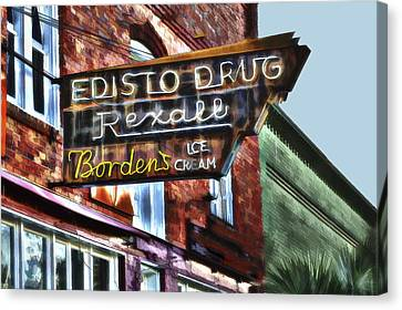 Edisto Drug Canvas Print