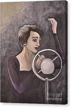 Edith Piaf Canvas Print