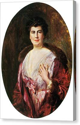 First Ladies Canvas Print - Edith Wilson, First Lady by Science Source