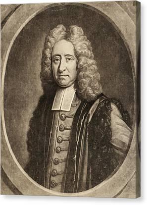 Edmond Halley Canvas Print