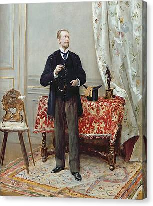 Edmond Taigny Canvas Print by Jean Beraud